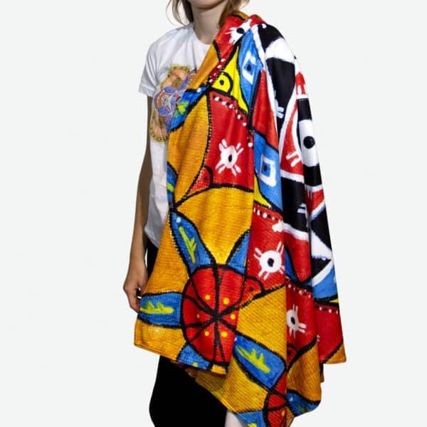 mandala blanket 1 2 1