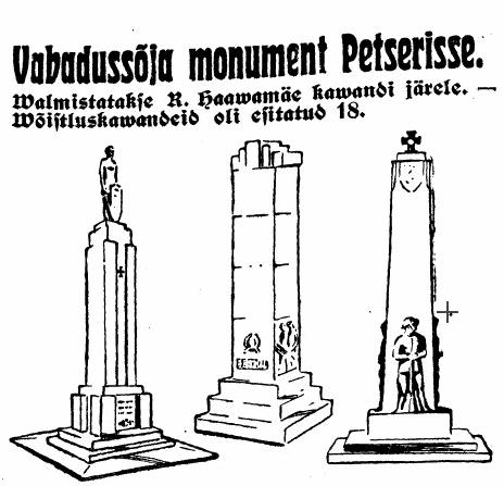 Ajaleht Maa hääl 1938 illustratsioon