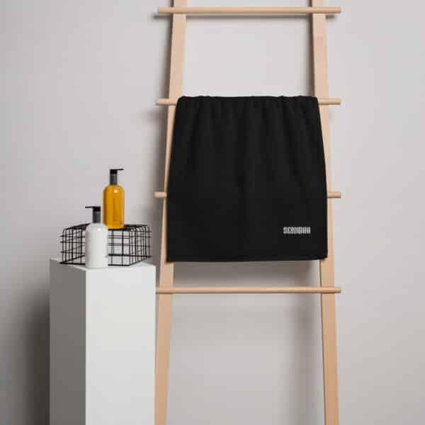 turkish cotton towel black 50 x 100 cm 5fc9158b4dfc6